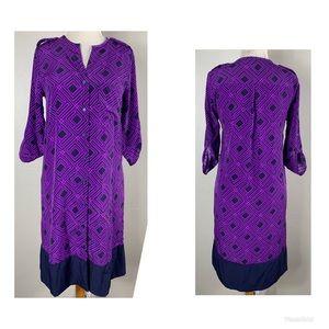 41 Hawthorne women shirt dress